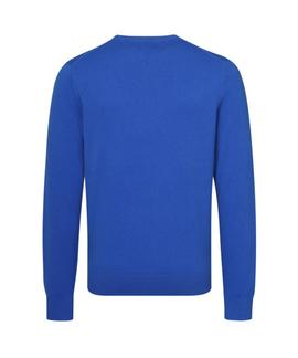 PIMA COTTON CASHMERE REGULAR FIT BLUE LOLITE HEAT.