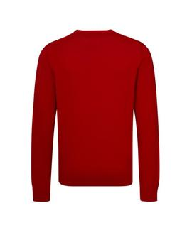 PIMA COTTON CASHMERE REGULAR FIT HAUTE RED