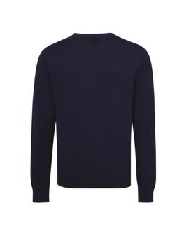 PIMA COTTON CASHMERE REGULAR FIT SKY CAPTAIN
