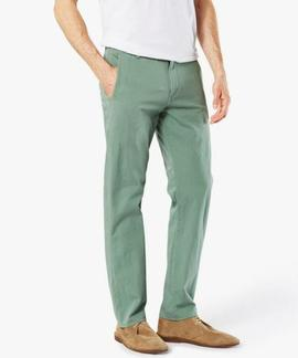 ALPHA KHAKI 360º SLIM TAPERED AGAVE GREEN