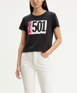 GRAPHIC SURF TEE 501 TAB CAVIAR