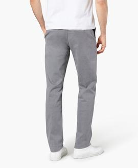 WASHED KHAKI SLIM TAPERED BURMA GREY