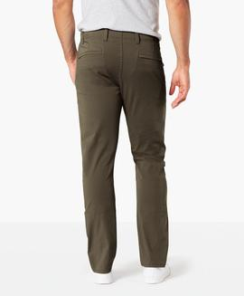 ALPHA KHAKI 360º SKINNY TAPERED OLIVE BROWN