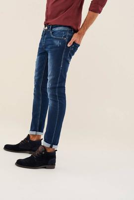 CLASH SKINNY FIT JOGGER PREMIUM WASH CON ROTOS