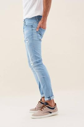 CLASH SKINNY FIT PREMIUM WASH CON ROTOS