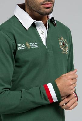RUGBY H POLO TEAM VERDE