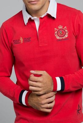 RUGBY H POLO TEAM ROJO