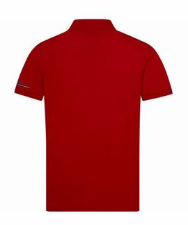 TOMMY LOGO REGULAR FIT POLO  HAUTE RED