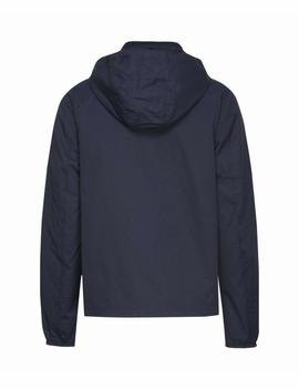 TJM ESSENTIAL HOODED JACKET BLACK IRIS