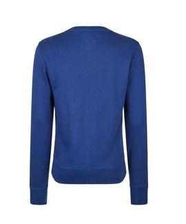 LOGO SWEATSHIRT REGULAR FIT STRONG BLUE