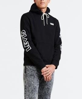 GRAPHIC PO HOODIE B PO MICKEY WINK BLACK